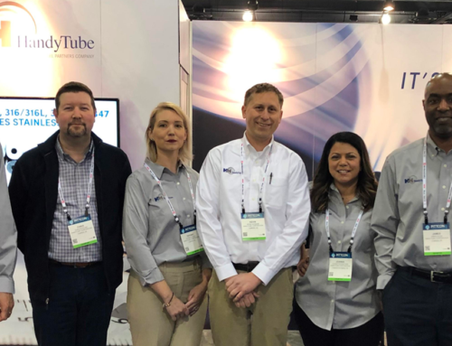 HandyTube Management Team Visits Pittcon 2019